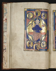 Scenes of the Creation, in the Huth Psalter